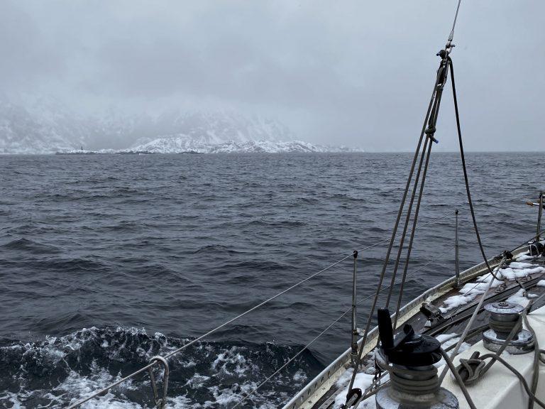 winter sailing Skrova